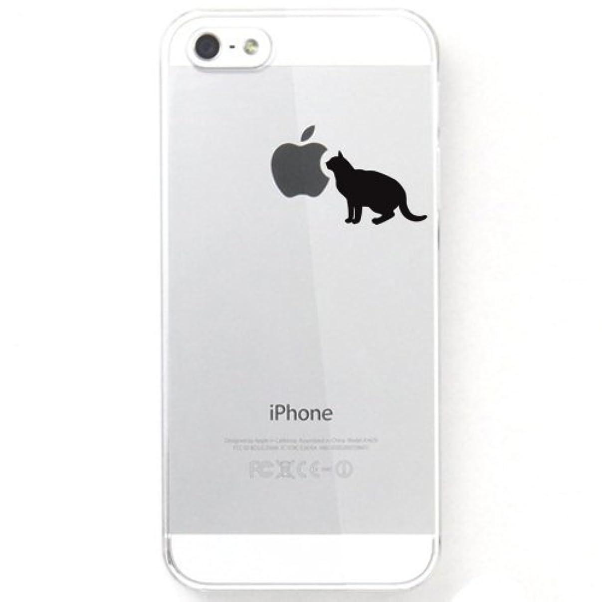 郵便物メディカル大人otas iPhone5S iPhone5用ハードケース/カバー クリア ねこ 888-28058