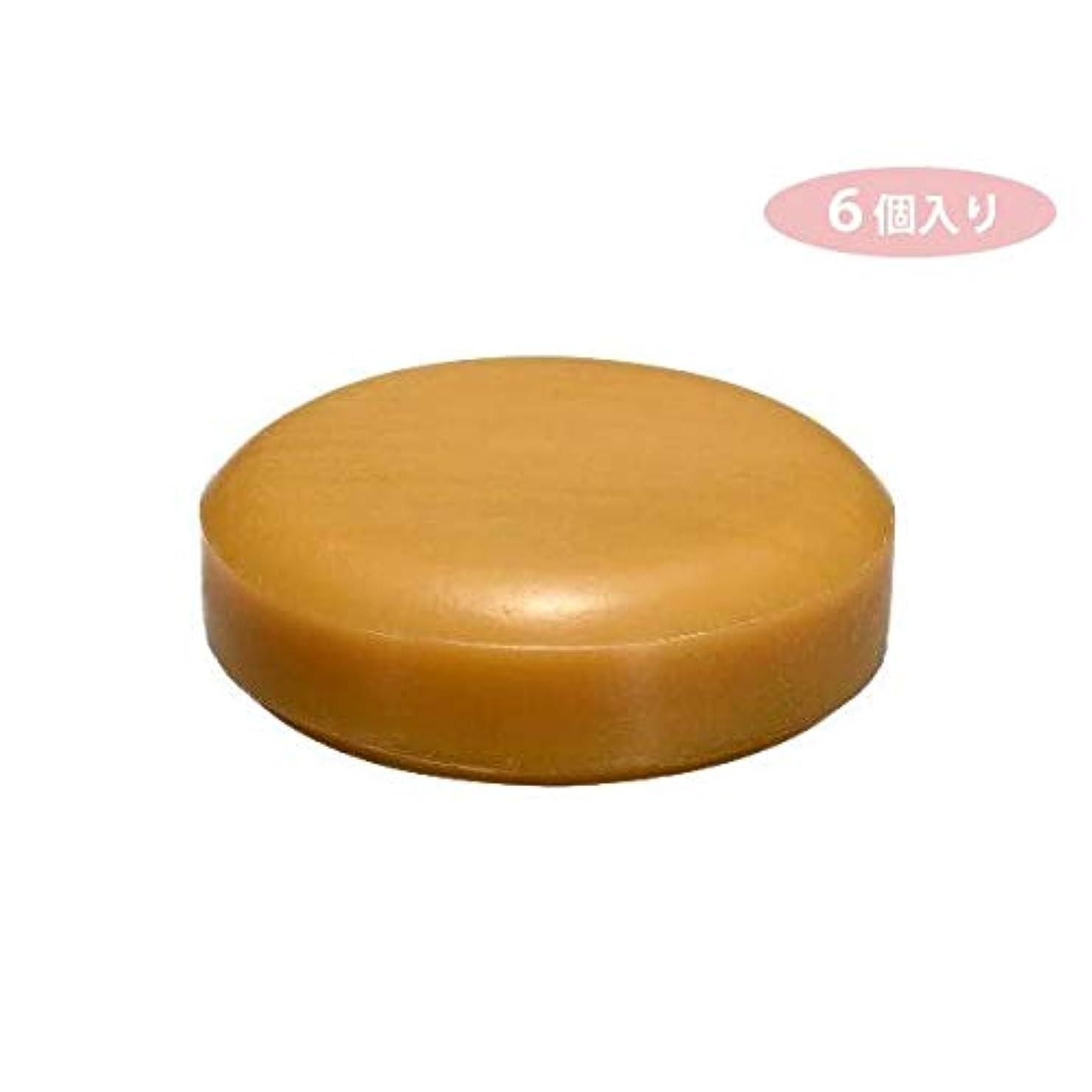 くつろぐ浴室ハイランドCHA 6個入り スキンケアシリーズ ハチミツスキンケアソープ