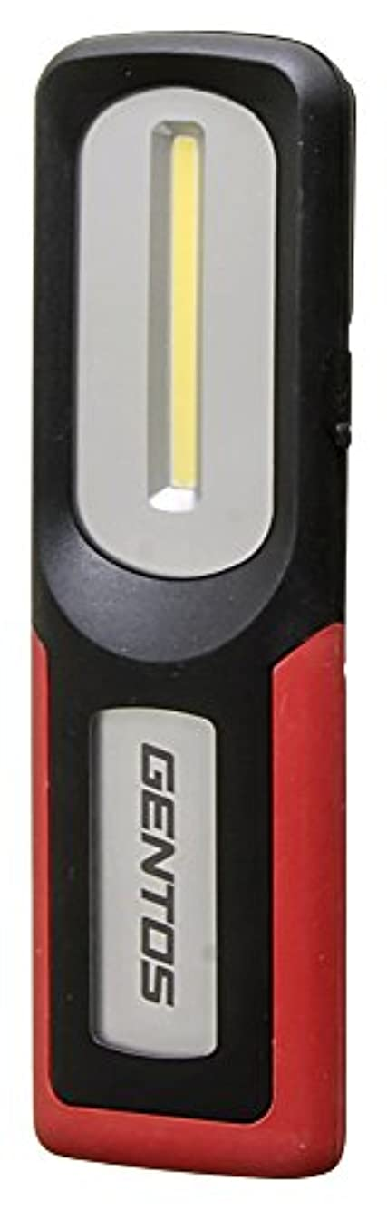 見捨てる高い省略GENTOS(ジェントス) 作業灯 LED ワークライト USB充電式 【明るさ420ルーメン/実用点灯3時間/防塵/防滴】 ガンツ GZ-103 ANSI規格準拠