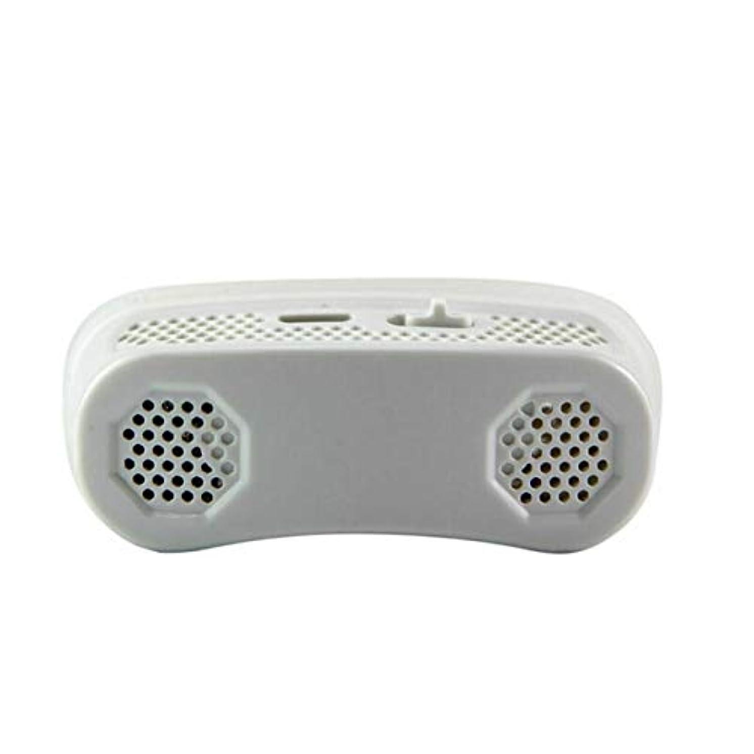 ストライド脅かすマザーランドDeeploveUU 睡眠時無呼吸止めいびき止め栓のためのマイクロCPAPのいびき防止の電子機器