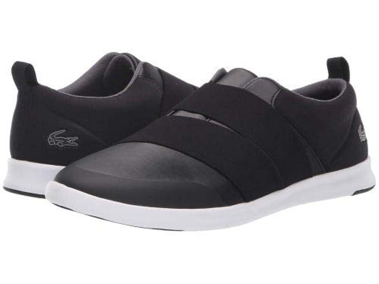 エミュレーションリテラシー間隔Lacoste(ラコステ) レディース 女性用 シューズ 靴 スニーカー 運動靴 Avenir Slip 418 1 - Black/White [並行輸入品]