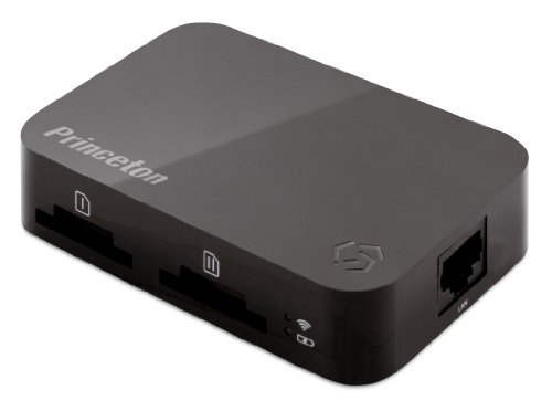 プリンストン ワイヤレスモバイルストレージ Toaster Pro ブラック PTW-TSTP
