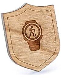 トレッキングWatchラペルピン、木製ピンとタイタック|素朴な、ミニマルGroomsmenギフト、ウェディングアクセサリー
