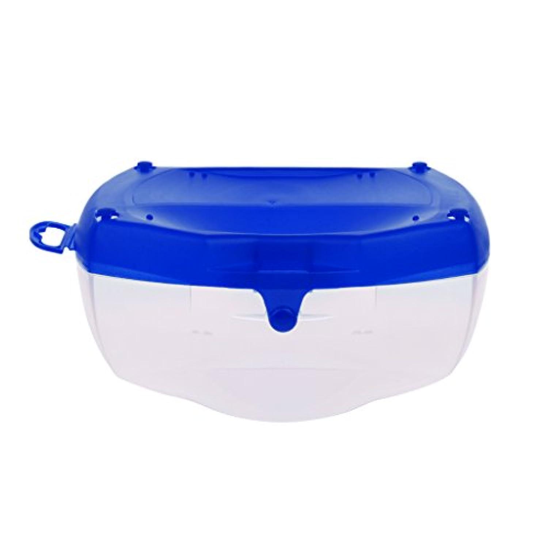 Dovewill 硬質プラスチック ダイビング眼鏡 収納ボックス マスク収納ケース ハードケース 耐久性 携帯便利 3色選べる