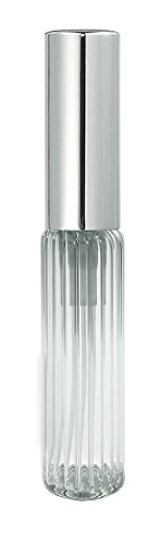現像緊張するタイムリーな60502 グラスアトマイザー ストライプ シルバーキャップ