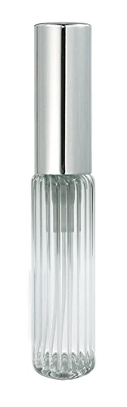 散髪咽頭菊60502 グラスアトマイザー ストライプ シルバーキャップ