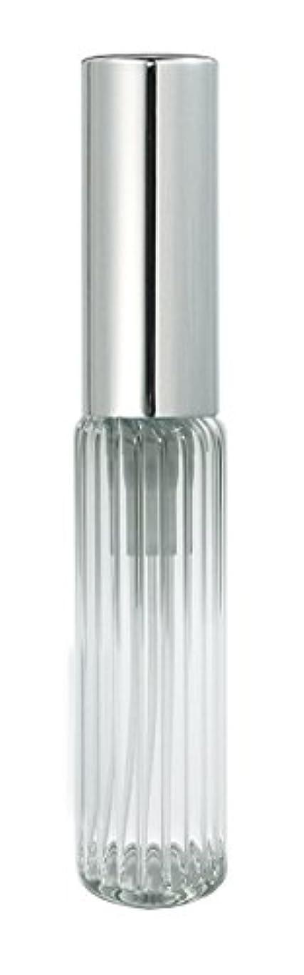 彫刻トン言い換えると60502 グラスアトマイザー ストライプ シルバーキャップ