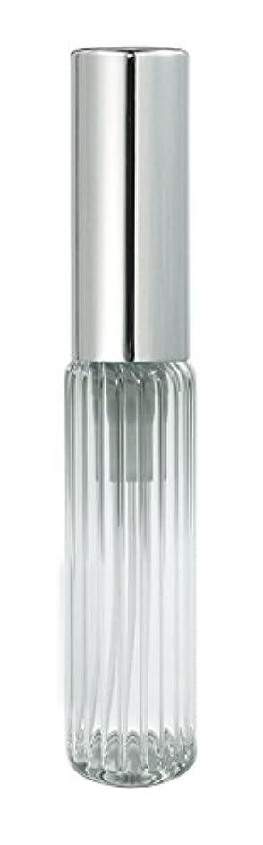 60502 グラスアトマイザー ストライプ シルバーキャップ