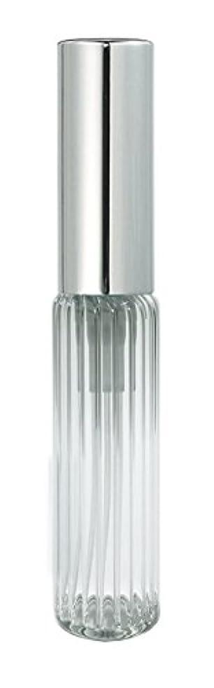 信仰分合理化60502 グラスアトマイザー ストライプ シルバーキャップ
