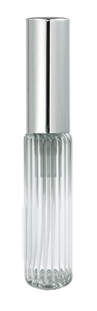 序文うがい温度計60502 グラスアトマイザー ストライプ シルバーキャップ
