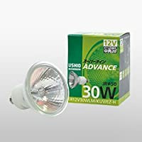 ウシオライティング 照明器具 JR12V50WLW/KUV/EZ-H (JR12V50WLW/KUV/EZ-H ×10) ランプ類 ハロゲン電球 ケース商品 畳数設定無し 白熱灯