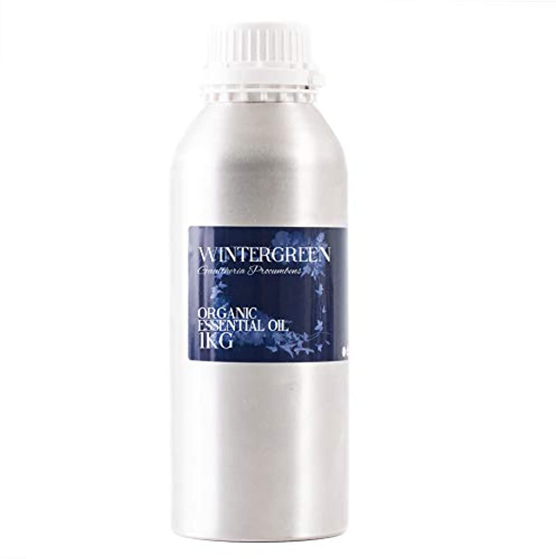 肺炎ゴルフ十億Mystic Moments | Wintergreen Organic Essential Oil - 1Kg - 100% Pure