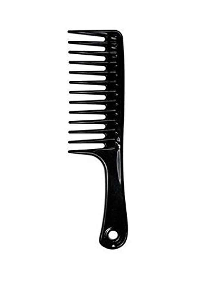 Large Tooth Detangle Comb Shampoo Wide Teeth Comb Hair Salon Shampoo Comb Unbreakable 9 1/2