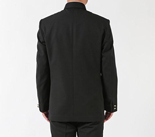 標準型 学生服 上着(ポリエステル100% ラウンドカラー A体 B体) (175A) 男子学生服 詰襟 スクール制服 男子上衣