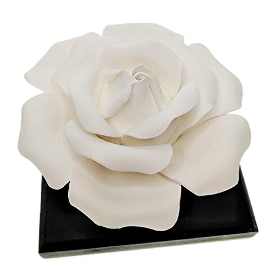 強化入力バンP Prettyia ローズフラワー エッセンシャルオイル 香水 香りディフューザー 美しい 装飾品