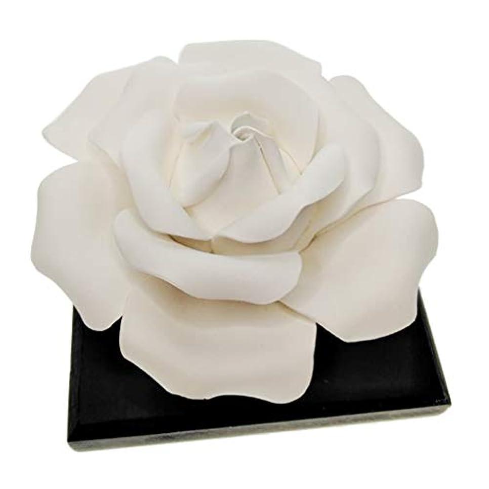 ネコ副詞メニューP Prettyia ローズフラワー エッセンシャルオイル 香水 香りディフューザー 美しい 装飾品