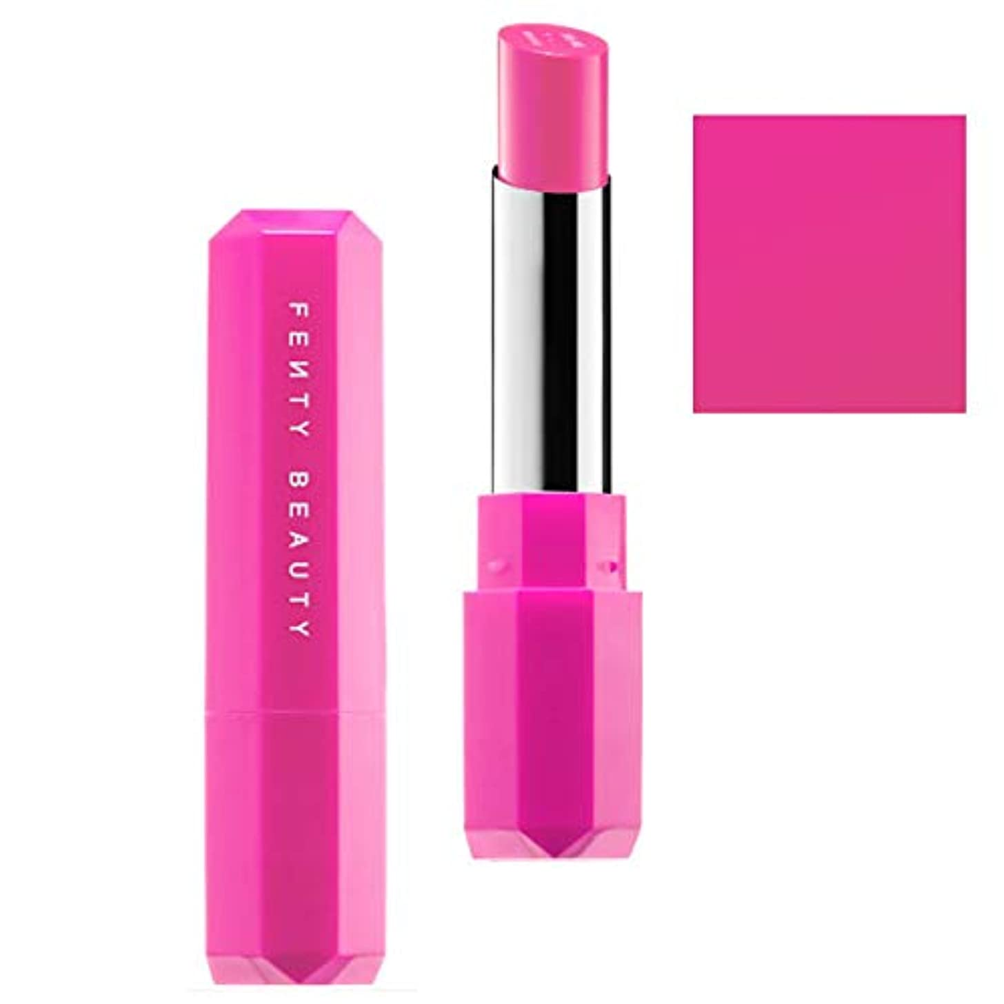 はしご目覚める明快FENTY BEAUTY BY RIHANNA,New!!, 限定版 limited-edition, Poutsicle Juicy Satin Lipstick - Alpha Doll [海外直送品] [並行輸入品]