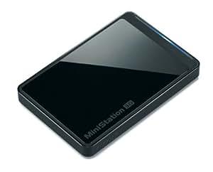 BUFFALO USB3.0用 ポータブルハードディスク 500GB HD-PCT500U3-BJ