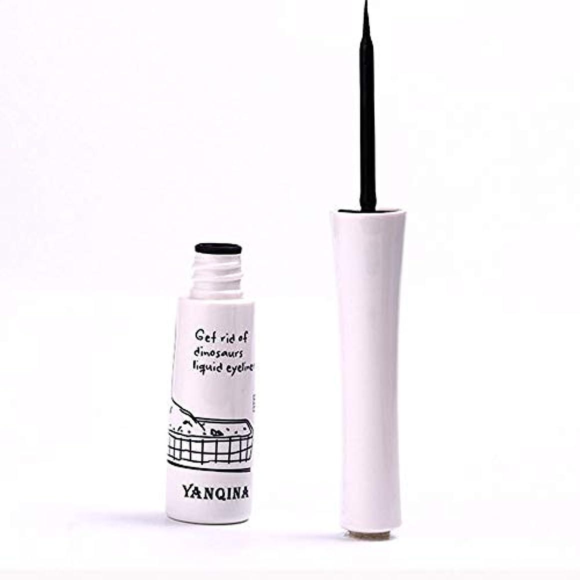 ばかげた剥離飼料黒いアイライナーの防水液体のアイライナーの鉛筆のペンは特徴を構成します