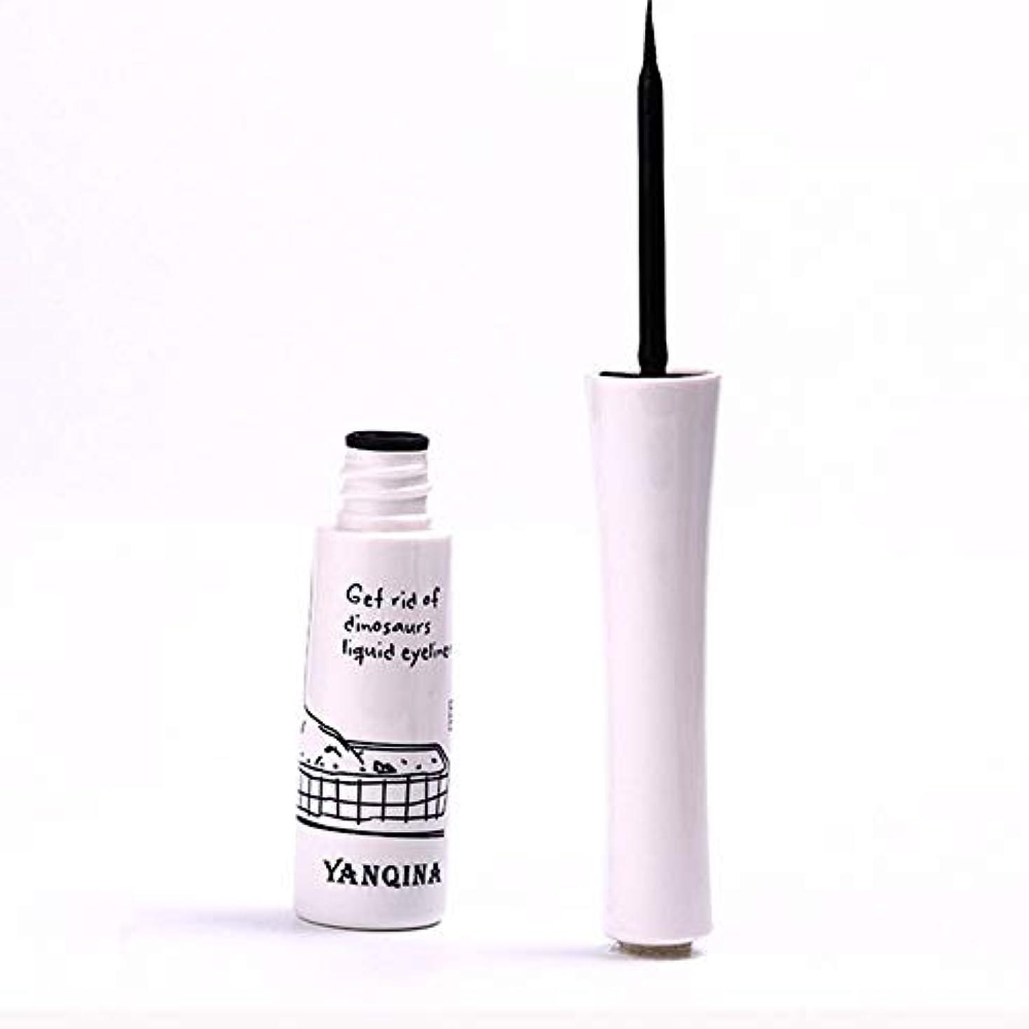 黒いアイライナーの防水液体のアイライナーの鉛筆のペンは特徴を構成します