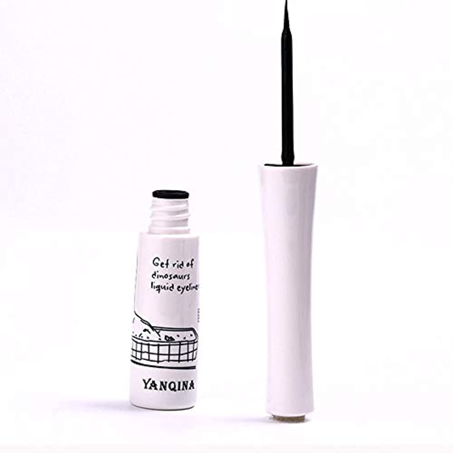 セラーまっすぐラベ黒いアイライナーの防水液体のアイライナーの鉛筆のペンは特徴を構成します