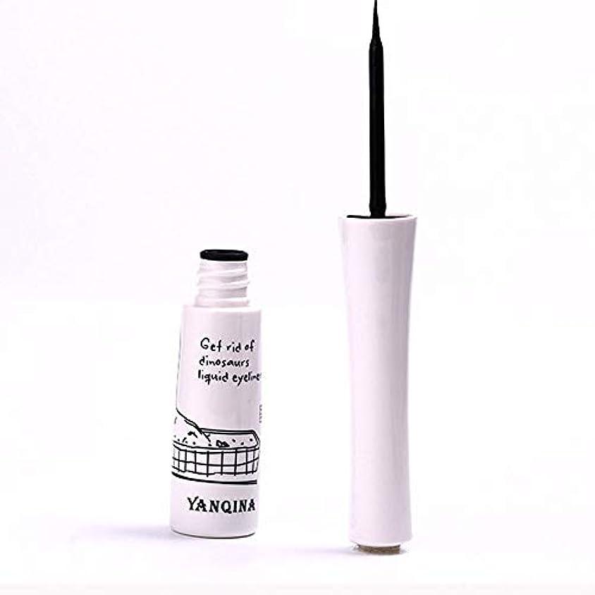 下にエミュレートするの慈悲で黒いアイライナーの防水液体のアイライナーの鉛筆のペンは特徴を構成します