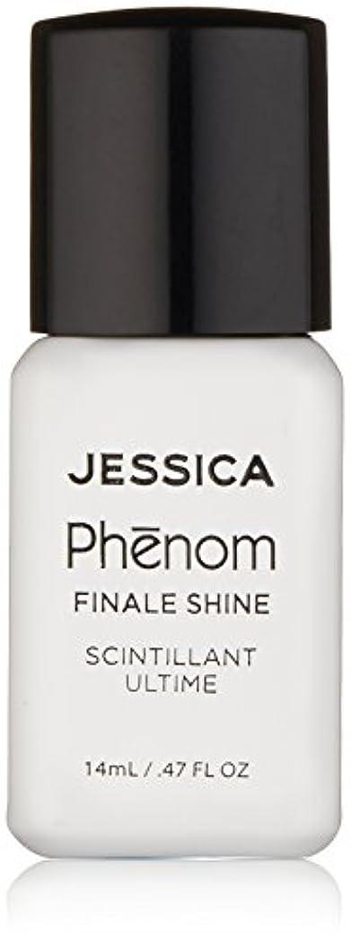 気配りのある正気状況Jessica Phenom Nail Lacquer - Finale Shine Top Coat - 15ml / 0.5oz