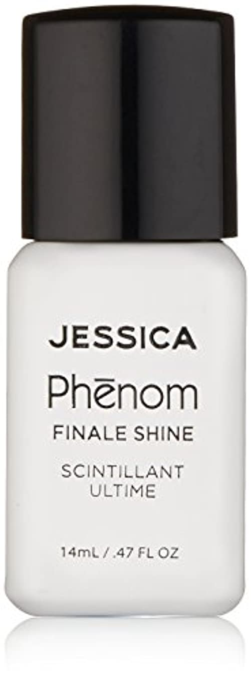 乏しい抑圧する受取人Jessica Phenom Nail Lacquer - Finale Shine Top Coat - 15ml / 0.5oz