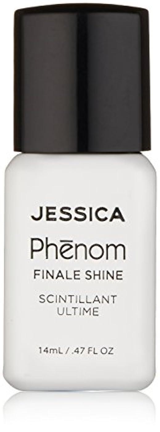 便利さ弾性アクティブJessica Phenom Nail Lacquer - Finale Shine Top Coat - 15ml / 0.5oz