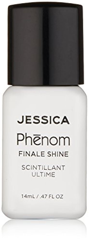 奨励観察する補うJessica Phenom Nail Lacquer - Finale Shine Top Coat - 15ml / 0.5oz