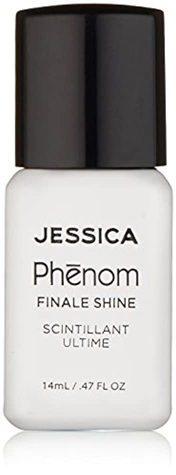 適度にインストラクター肺Jessica Phenom Nail Lacquer - Finale Shine Top Coat - 15ml / 0.5oz
