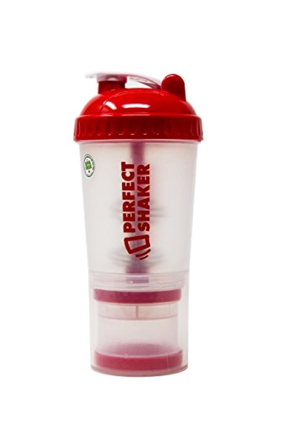 帆質素な識別PerfectShaker Plus Shaker Bottles