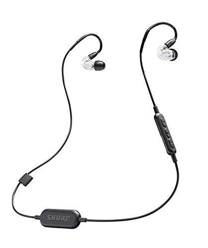 SHURE ワイヤレスイヤホン BT1シリーズ SE215 Bluetooth カナル型 高遮音性 クリアー SE215-CL-BT1-A 【国内正規品】