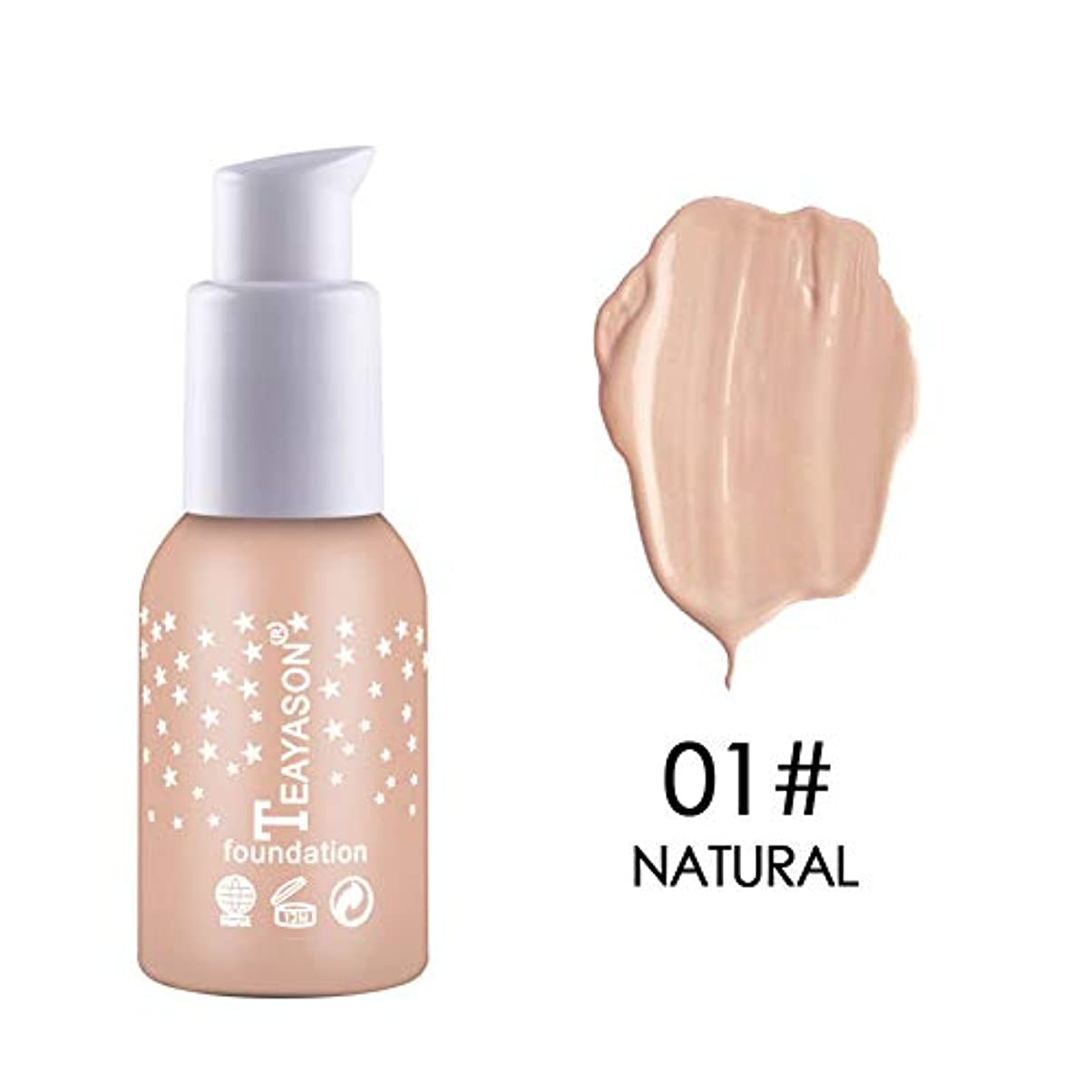 まっすぐ展望台落ち着かないSymboat Concealer Liquid Foundation Moisturizing Waterproof Oil Control Long Lasting