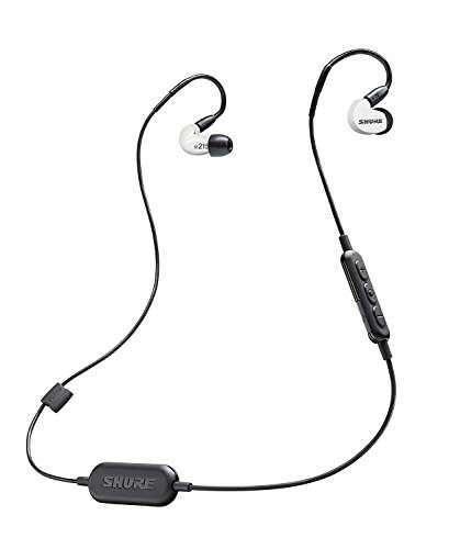 SHURE ワイヤレスイヤホン BT1シリーズ SE215 Special Edition Bluetooth カナル型 高遮音性 ホワイト SE215SPE-W-BT1-A 【国内正規品】