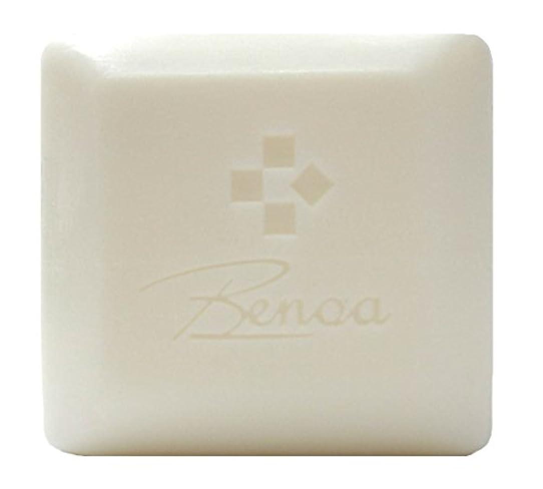 馬油ソープ ベノア 洗顔石鹸 80g