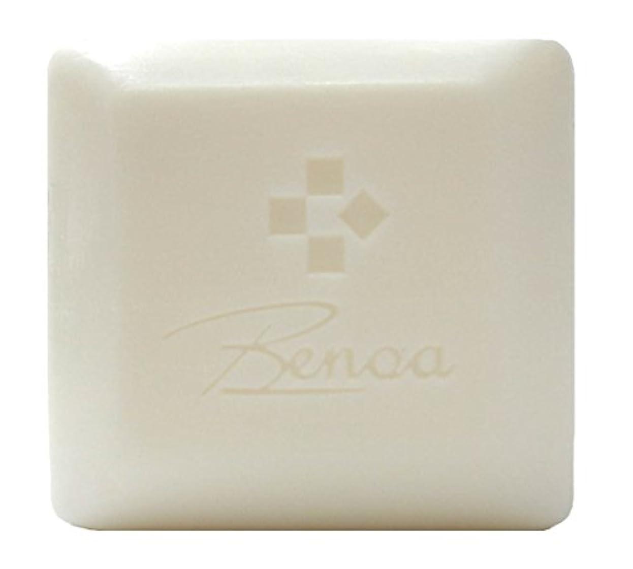 検索エンジンマーケティングリズミカルな急勾配の馬油ソープ ベノア 洗顔石鹸 80g
