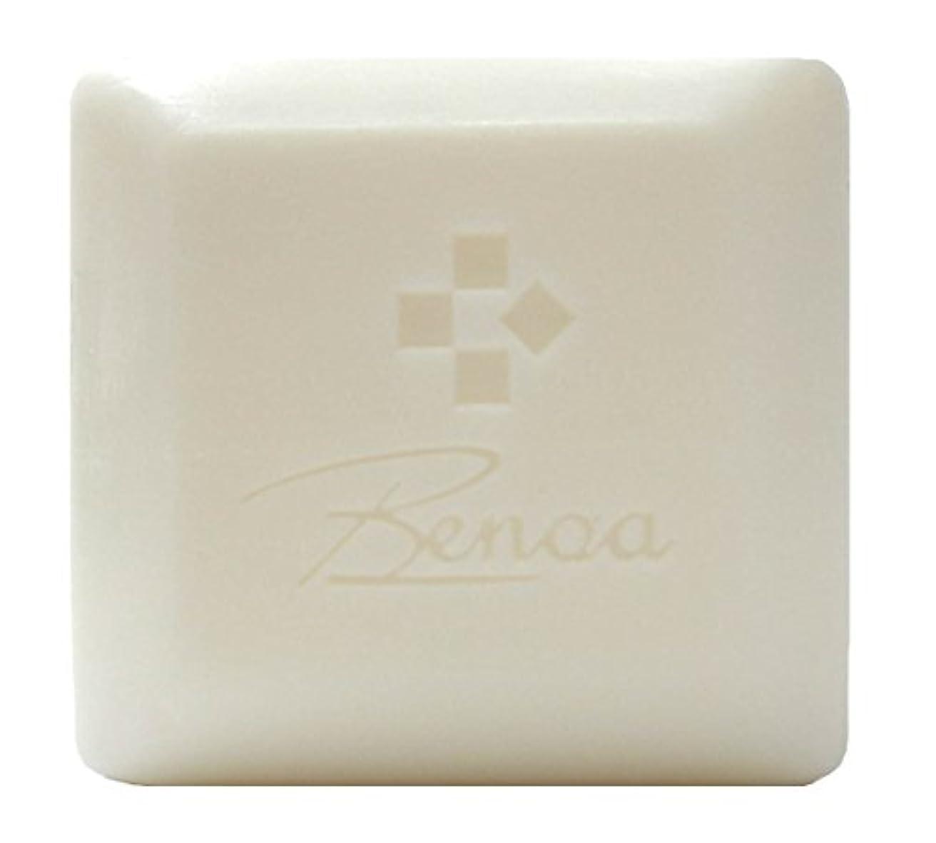パンチ始まりベンチャー馬油ソープ ベノア 洗顔石鹸 80g
