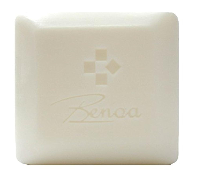 ジャンルガロン防止馬油ソープ ベノア 洗顔石鹸 80g