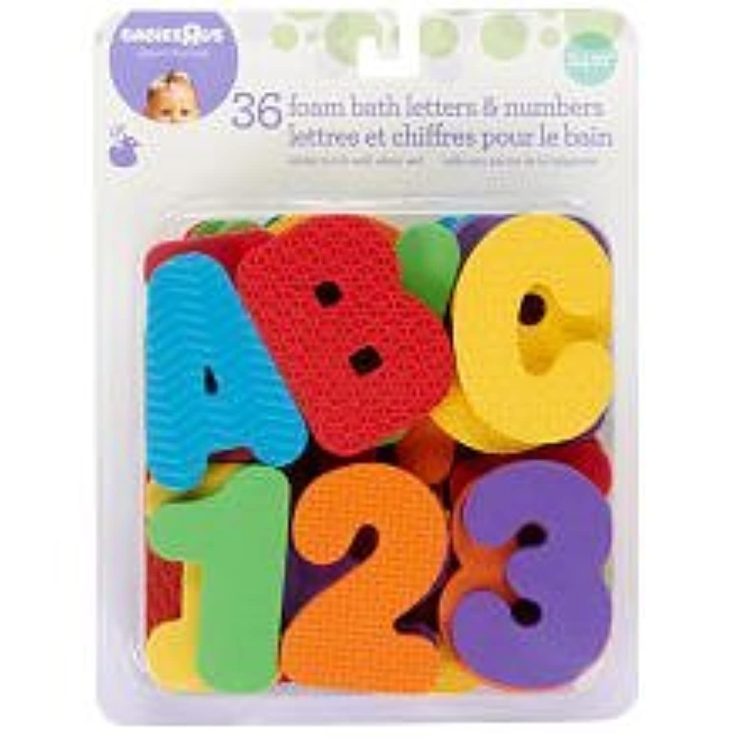 Babies R Us Foam Letters and Numbers - 36 Piece [並行輸入品]