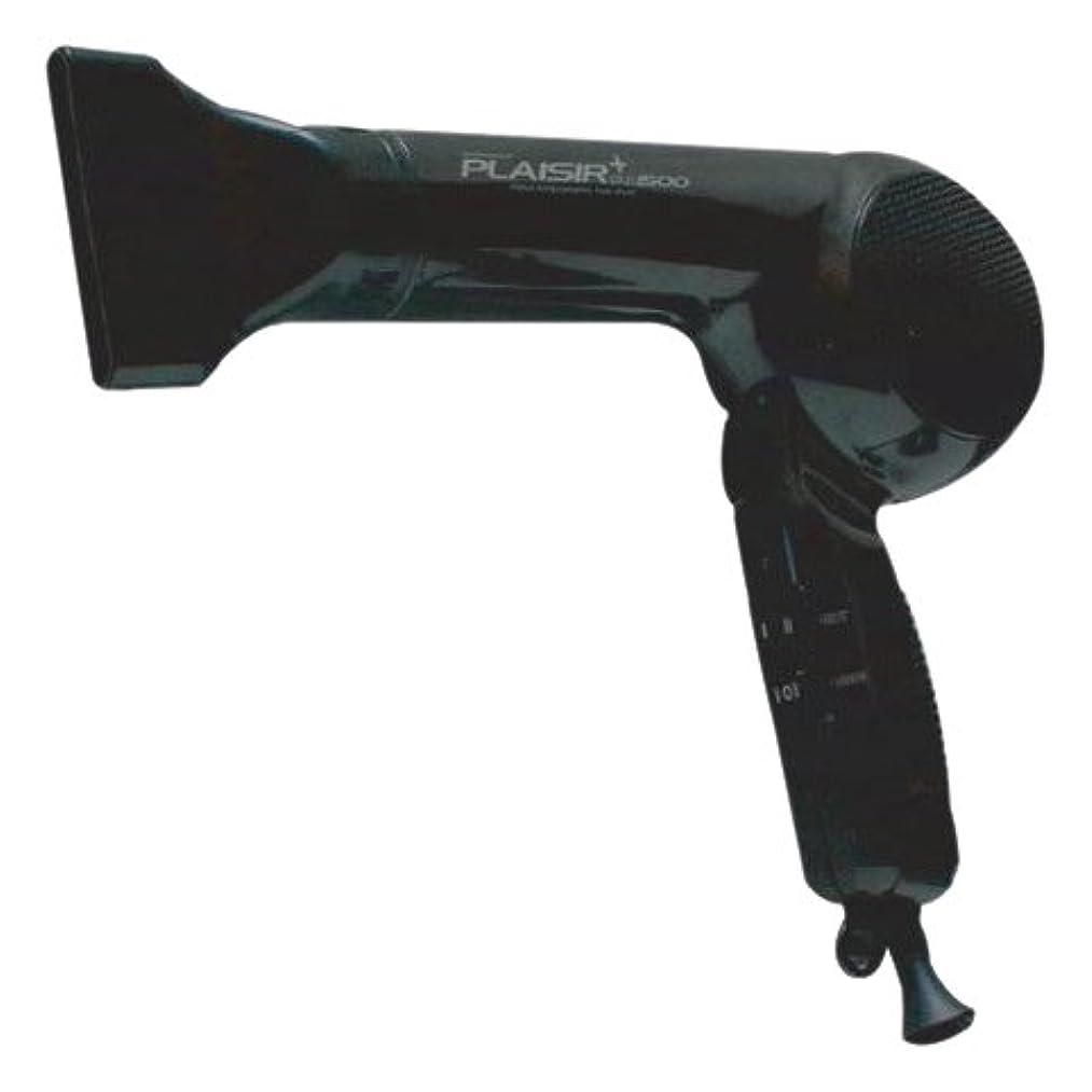 頻繁に山岳不健康大阪ブラシ ヘアドライヤー プレジールプラス1500 ブラック FTC-1550