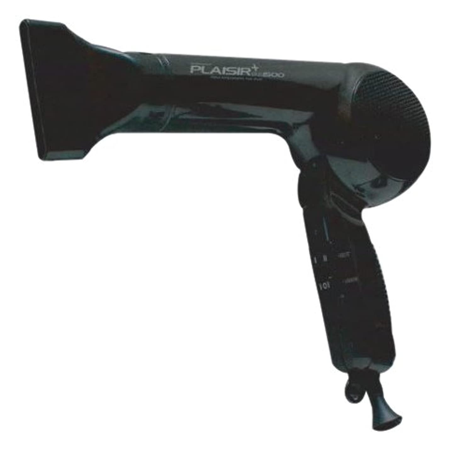 半島リル強制大阪ブラシ ヘアドライヤー プレジールプラス1500 ブラック FTC-1550