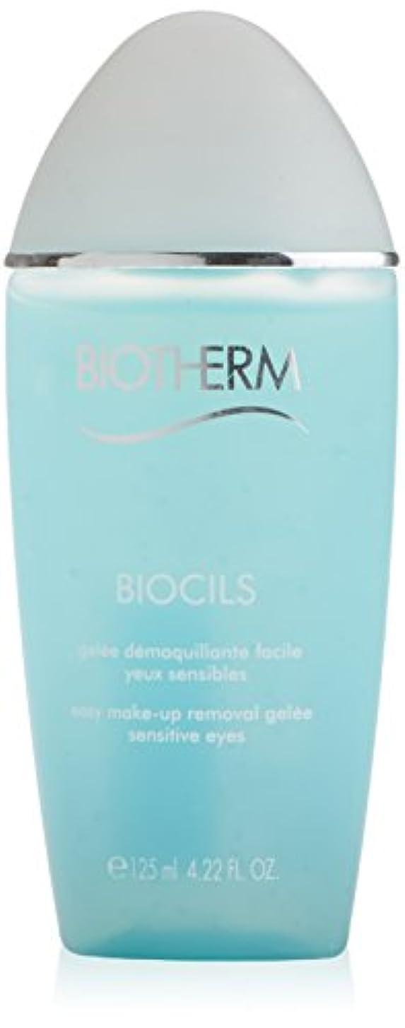 簡略化する脆い楽なBiotherm Biocils Eye Makeup Removal Gel Sensitive Eyes 125ml