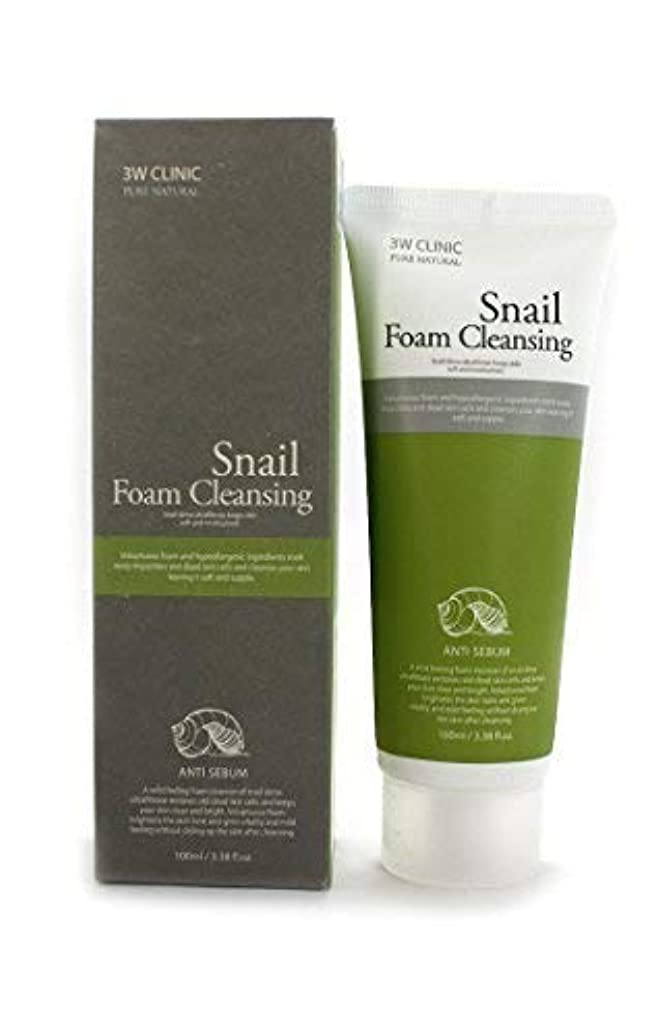 純粋に温帯あいまいさSnail Foam Cleansing クリニック純粋な天然100Ml(3.38Fl。オズ) [並行輸入品]