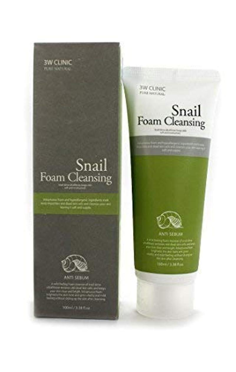 目に見える宮殿値Snail Foam Cleansing クリニック純粋な天然100Ml(3.38Fl。オズ) [並行輸入品]