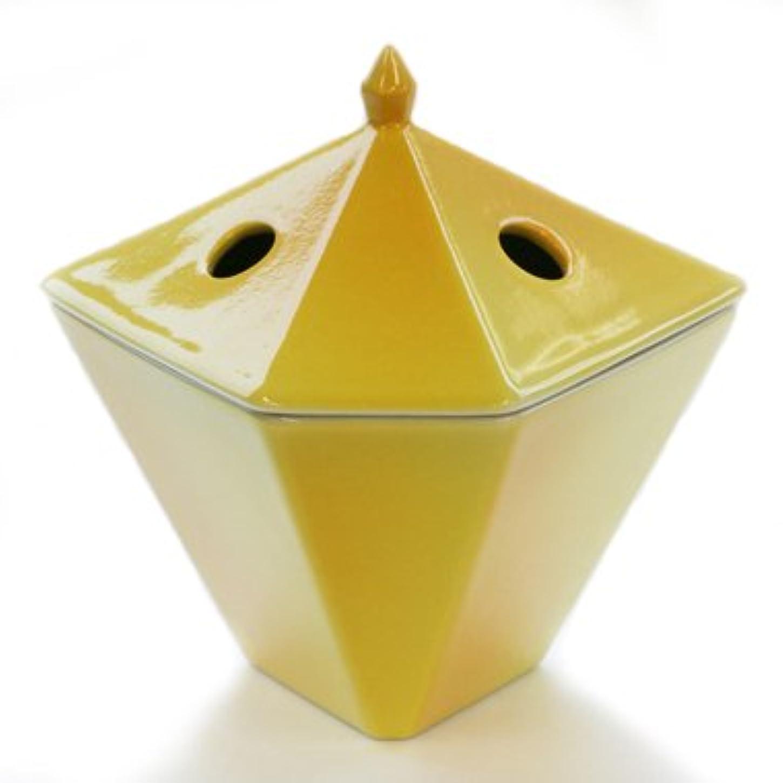 秘書量傑出した縁香炉 黄
