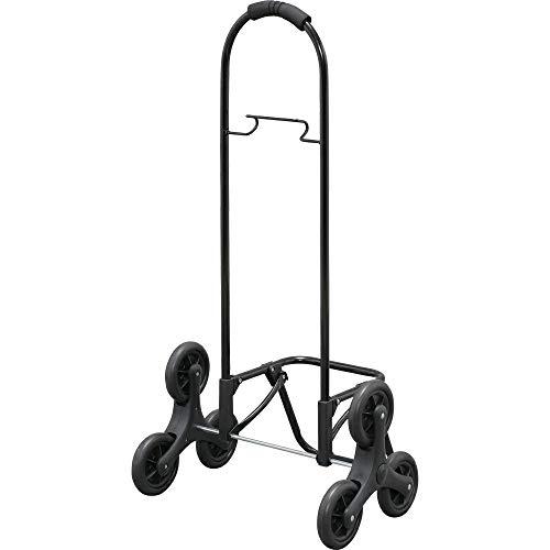 アイリスオーヤマ ショッピングキャリー ブラック 47×35×88cm ショッピングキャリー用 フレーム 3輪タイプ SHPC-FD