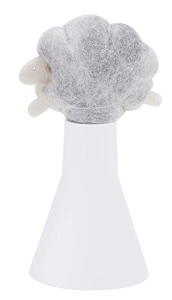 お風呂悪化させるなめらかなSLEEP sheep アロボックル ライトグレー