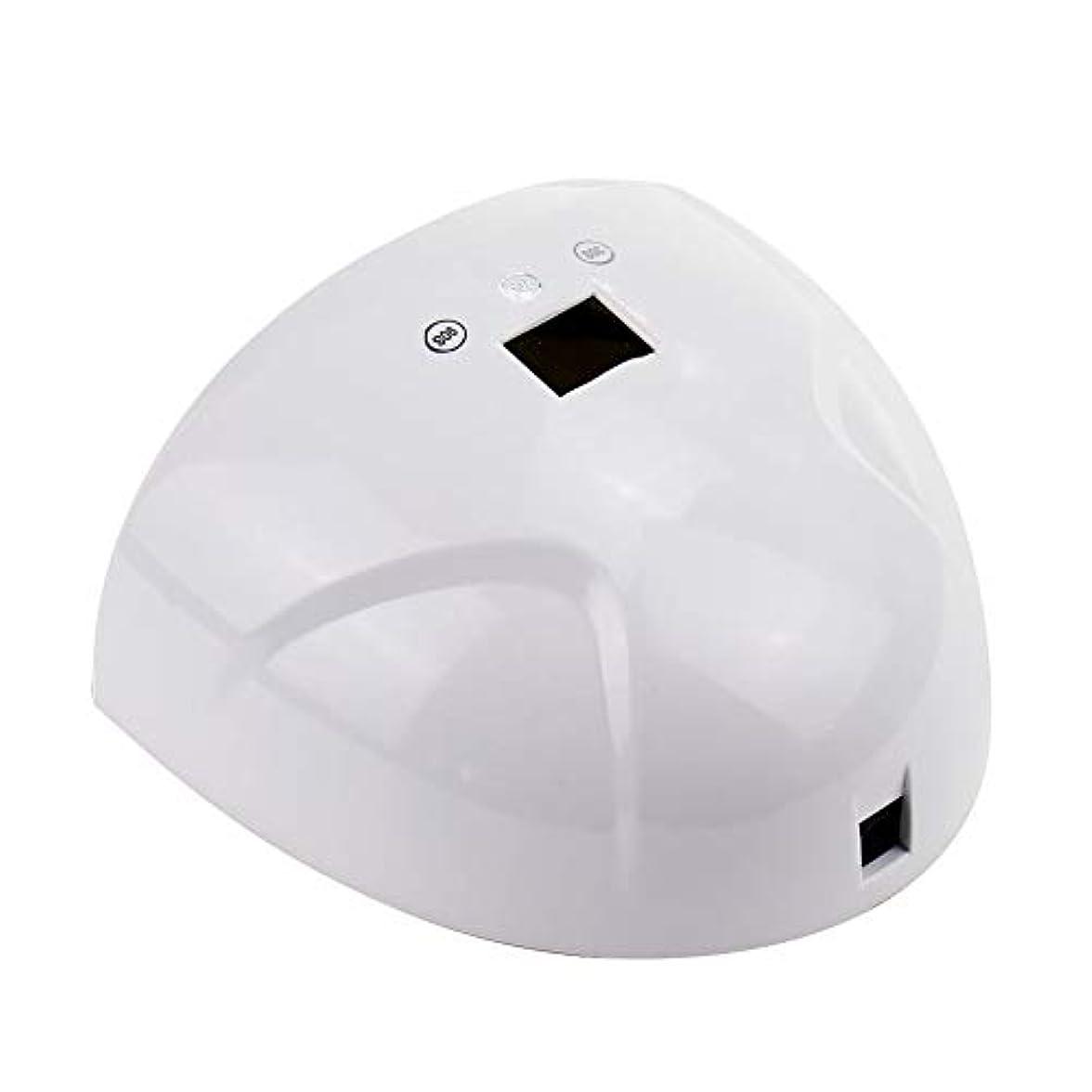 栄光のクリープ蜂ネイルドライヤー - LEDマシン光線療法ネイルマシン36Wスマートデュアル光源ネイルベーキング高速乾燥機