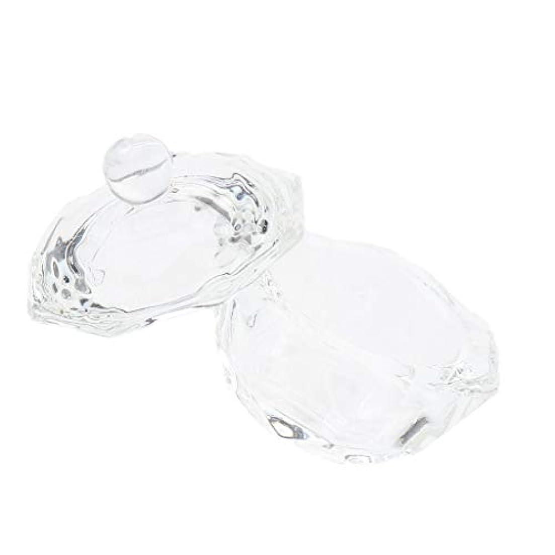 アクセント貢献タンザニアDYNWAVE ネイルガラス皿 ネイルアートクリスタルカップ グラスカップ ミキシングカップ ネイルアート用品ツール